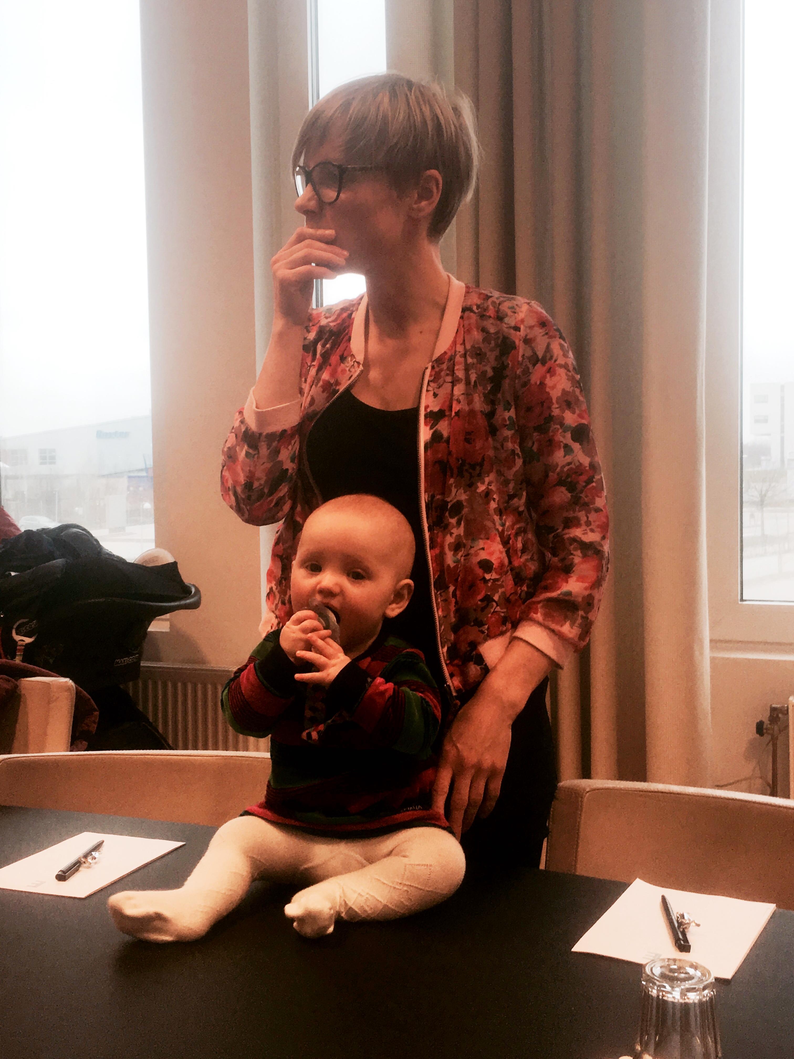 Emma och dottern Birgit.