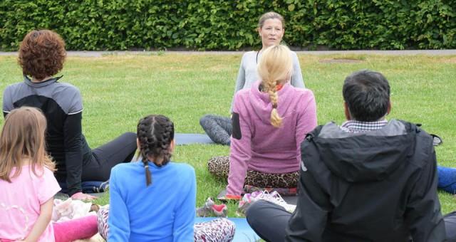 Yogaevent hölls i Mölndal och alla intäkter gick till NSMA